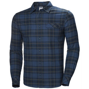 Helly Hansen Classic Check LS Shirt Herr blue fog plaid blue fog plaid