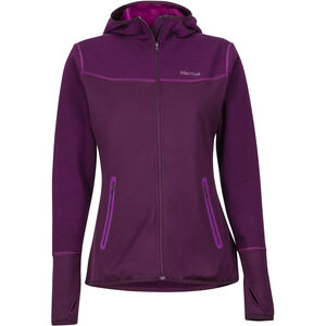 Marmot Sirona Hoody Dam dark purple/grape dark purple/grape