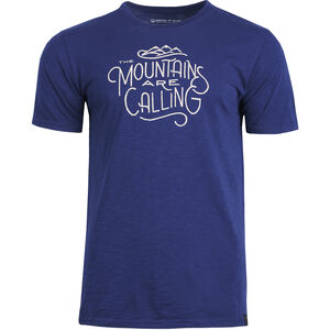United By Blue Mountains Are Calling SS Graphic Tee Herr Midnight Midnight