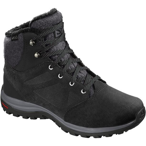 Salomon Ellipse Freeze CS WP Shoes Dam black/phantom/beach glass