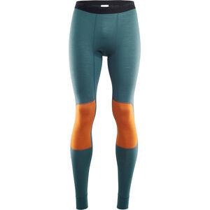 Aclima LightWool Reinforced Long Pants Herr tapestry/orange popsicle tapestry/orange popsicle
