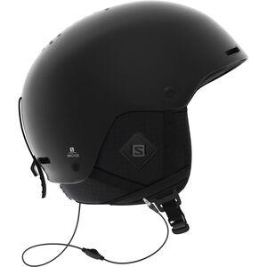 Salomon Brigade+ Audio Helmet Herr all black all black
