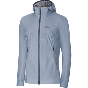 GORE WEAR H5 Women Gore Windstopper Insulated Hooded Jacket Dam cloudy blue/deep water blue cloudy blue/deep water blue