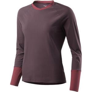 Houdini Liquid Skin Crew Shirt Dam backbeat brown/pava red backbeat brown/pava red
