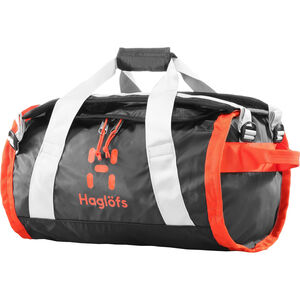 Haglöfs Lava 30 Duffel Bag true black/habanero true black/habanero