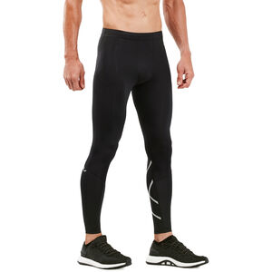 2XU Run Compression Tights Herr Black/Silver Reflective Black/Silver Reflective