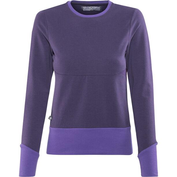 E9 Kat Fleece Jacket Dam purple