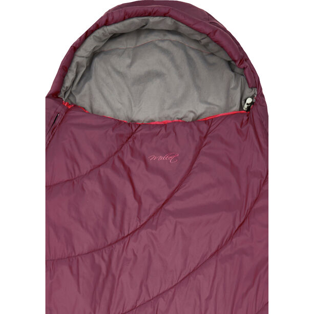Millet Baikal 750 Sleeping Bag Dam velvet red