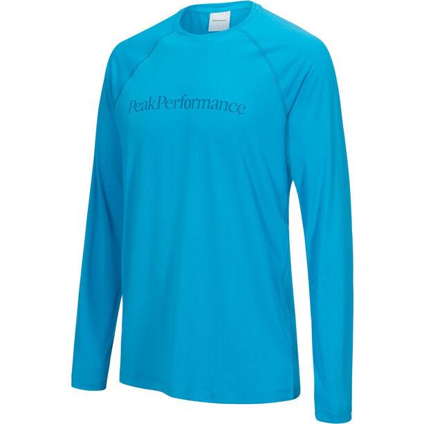Peak Performance Gallos Co2 LS Tee Herr active blue