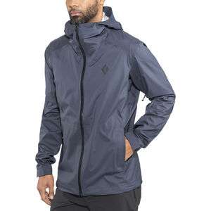 Black Diamond Stormline Stretch Rain Shell Jacket Herr captain captain