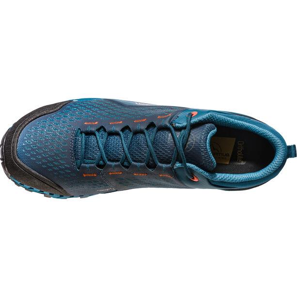La Sportiva Spire GTX Shoes Herr ocean/tangerine