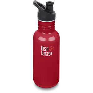 Klean Kanteen Classic Bottle Sport Cap 3.0 532ml mineral red mineral red