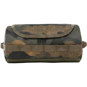 The North Face Base Camp Travel Canister S Waxed Camo Print/Burnt Olive Green Waxed Camo Print/Burnt Olive Green