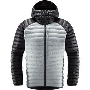 Haglöfs Essens Mimic Hooded Jacket Herr Stone Grey Stone Grey