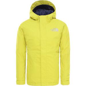 The North Face Snow Quest Jacket Pojkar Citronelle Green Citronelle Green