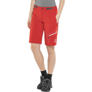 Haglöfs Lizard Shorts Dam pop red pop red
