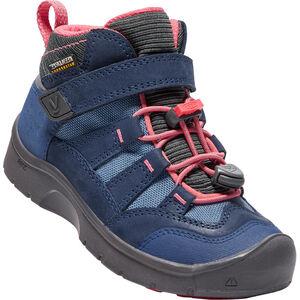 Keen Hikeport Waterproof Mid Shoes Barn dress blues/sugar coral dress blues/sugar coral