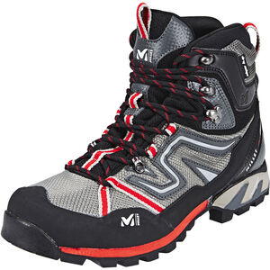 Millet High Route Hiking Shoes Mesh Herr grey/red grey/red