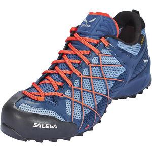 SALEWA Wildfire GTX Shoes Herr dark denim/papavero dark denim/papavero