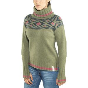 Devold Ona Round Sweater Dam lichen lichen