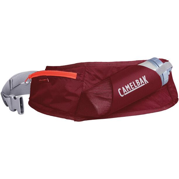 CamelBak Flash Hydration Belt 500ml burgundy/hot coral