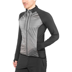 Yeti Mallow Full Windshield Jacket Herr black/gull grey black/gull grey