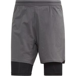 adidas TERREX Agravic 2in1 Shorts Herr grefiv grefiv