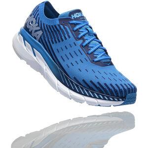 Hoka One One Clifton 5 Knit Running Shoes Herr french blue/twilight blue french blue/twilight blue