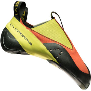 La Sportiva Maverink Junior Climbing Shoes Barn flame/sulphur flame/sulphur