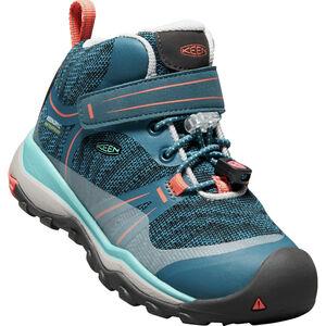 Keen Terradora WP Mid Shoes Barn aqua sea/coral aqua sea/coral