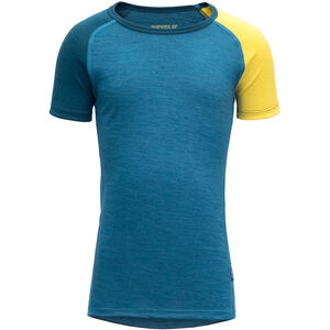 Devold Breeze T-Shirt Barn blue blue