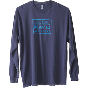 KAVU Adventure Time LS T-Shirt Herr faded ink faded ink