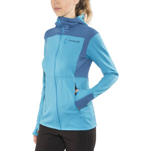Norrøna Falketind Warm1 Stretch Zip Hoodie Dam blue moon blue moon