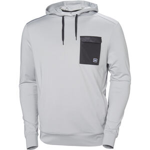 Helly Hansen Hyggen Light Hoodie Herr grey fog melange grey fog melange