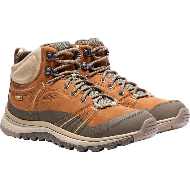 Keen Terradora Lea WP Mid Shoes Dam timber/cornstal
