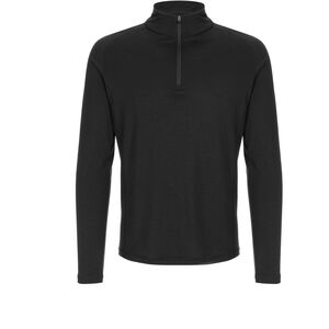 super.natural Base 1/4 Zip 175 Herr jet black jet black