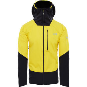 The North Face Summit L4 Windstopper Hybrid Hoodie Herr canary yellow/tnf black canary yellow/tnf black