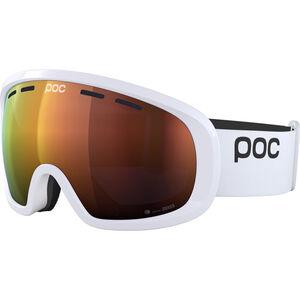 POC Fovea Mid Clarity Goggles hydrogen white/spektris orange hydrogen white/spektris orange