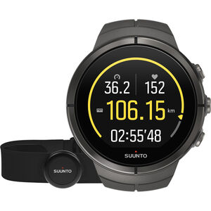 Suunto Spartan Ultra Titanium Watch Chest HR stealth stealth