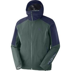 Salomon Outline Jacket Herr green gab green gab