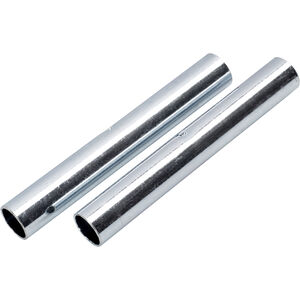 CAMPZ Sleeves for glass fibre poles 9mm Set of 2 silver silver