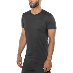 Bergans Fløyen Tee Herr black/solid charcoal black/solid charcoal
