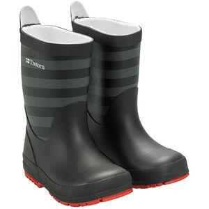 Tretorn Gränna Rubber Boots Barn black grey