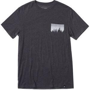 tentree Juniper Pocket T-Shirt Herr meteorite black meteorite black