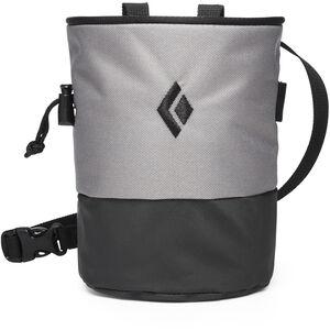 Black Diamond Mojo Zip Chalk Bag Ash/Slate Ash/Slate