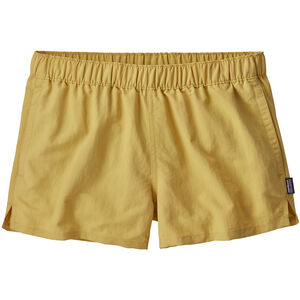 Patagonia Barely Baggies Shorts Dam surfboard yellow surfboard yellow