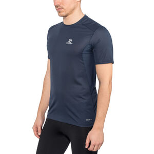 Salomon Trail Runner SS Tee Herr dress blue dress blue