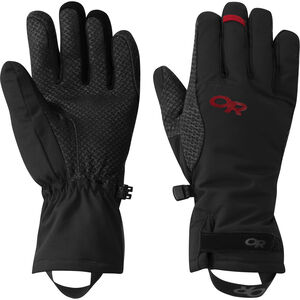 Outdoor Research Ouray Aerogel Gloves Dam Black/Tomato Black/Tomato