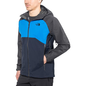 The North Face Stratos Jacket Herr asphalt grey/bomber blue/urban navy asphalt grey/bomber blue/urban navy