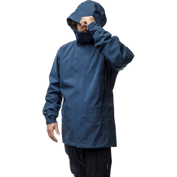 Houdini D Jacket Herr blurred blue